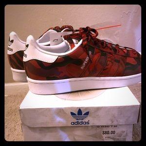 Adidas SuperStar Cameo Print Sneaker.